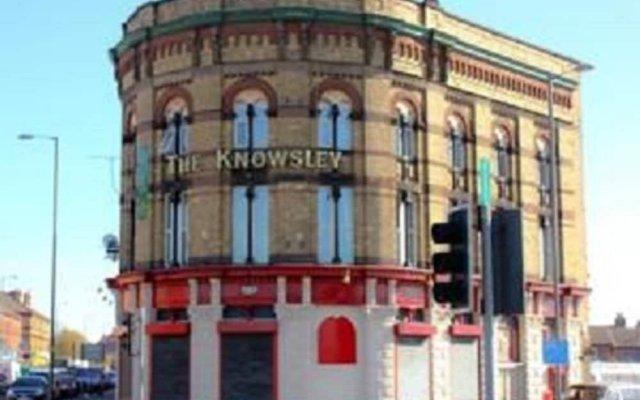 Отель The Knowsley B&B Великобритания, Ливерпуль - отзывы, цены и фото номеров - забронировать отель The Knowsley B&B онлайн вид на фасад