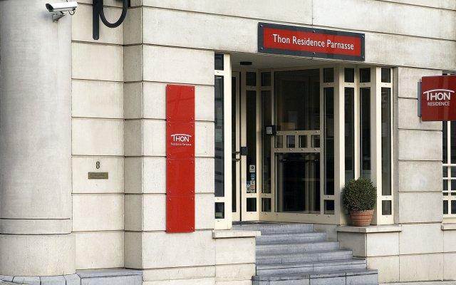Отель Thon Residence Parnasse Бельгия, Брюссель - отзывы, цены и фото номеров - забронировать отель Thon Residence Parnasse онлайн вид на фасад