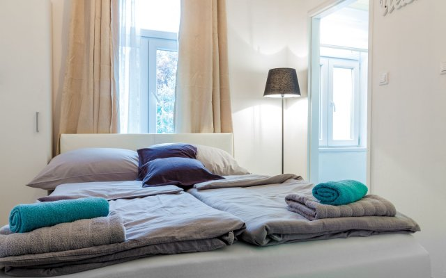 Апартаменты Holiday & Business Apartments 1120 комната для гостей