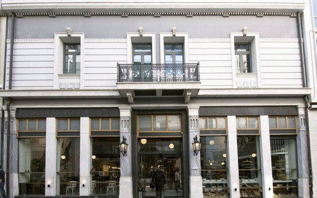 Отель Ergon House вид на фасад