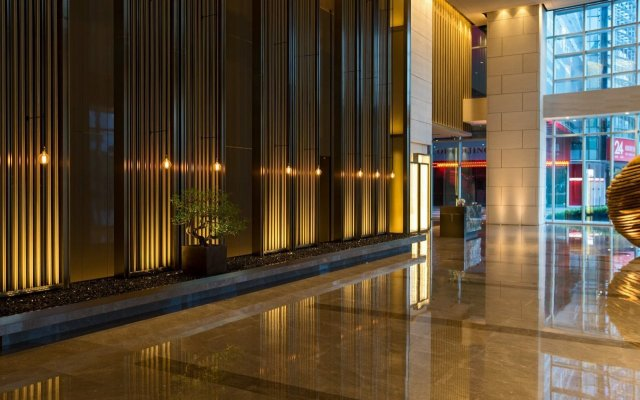 Отель Shenzhen Marriott Hotel Nanshan Китай, Шэньчжэнь - отзывы, цены и фото номеров - забронировать отель Shenzhen Marriott Hotel Nanshan онлайн вид на фасад