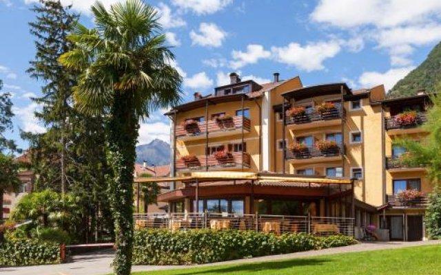 Hotel Thurnergut Меран вид на фасад