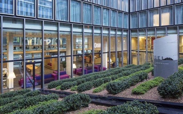Hotel Casa Amsterdam Амстердам вид на фасад
