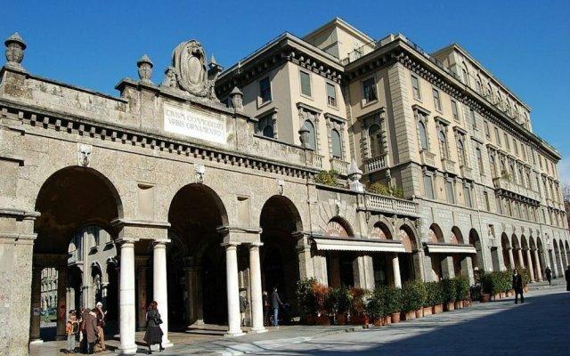 Отель Donizetti Royal Италия, Бергамо - отзывы, цены и фото номеров - забронировать отель Donizetti Royal онлайн вид на фасад