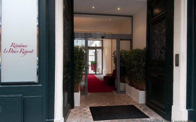 Отель Residence & Spa Le Prince Regent вид на фасад