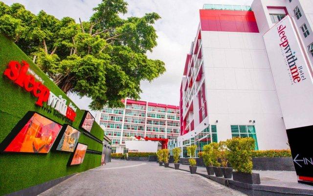 Sleep With Me Hotel design hotel @ patong вид на фасад