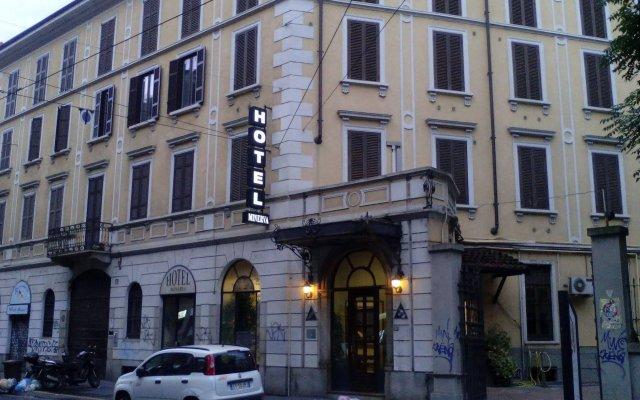 Отель Minerva вид на фасад