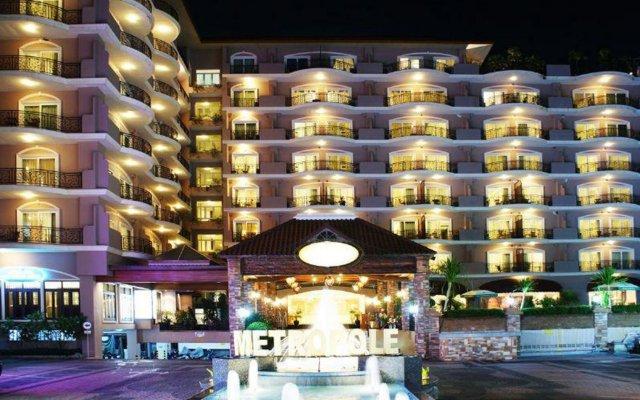 Отель LK Metropole Pattaya Таиланд, Паттайя - 1 отзыв об отеле, цены и фото номеров - забронировать отель LK Metropole Pattaya онлайн вид на фасад