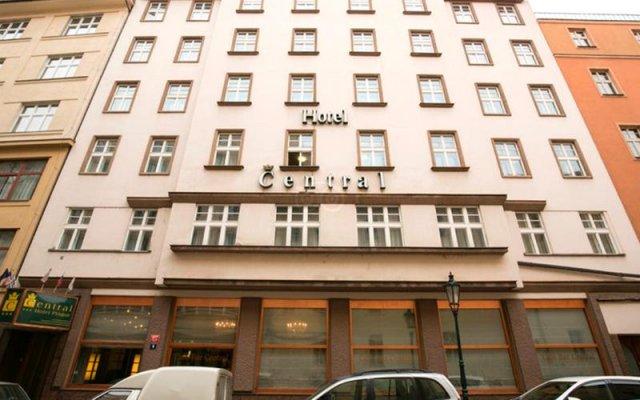 Central Hotel Prague Прага вид на фасад