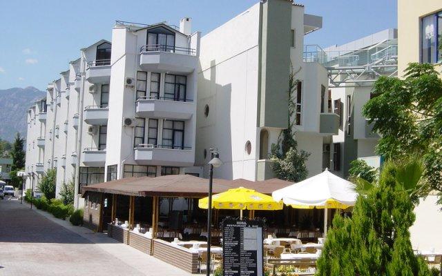 Отель Miranda Moral Beach Кемер вид на фасад