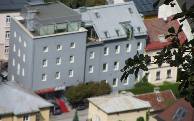 Отель Bergland Hotel Австрия, Зальцбург - отзывы, цены и фото номеров - забронировать отель Bergland Hotel онлайн вид на фасад