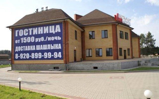Гостиница Van Hotel в Калуге отзывы, цены и фото номеров - забронировать гостиницу Van Hotel онлайн Калуга вид на фасад
