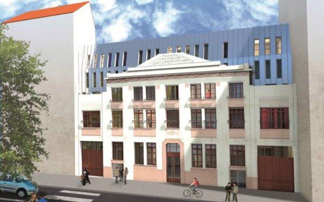 Отель Résidence Suiteasy Oxygène Франция, Лион - отзывы, цены и фото номеров - забронировать отель Résidence Suiteasy Oxygène онлайн вид на фасад