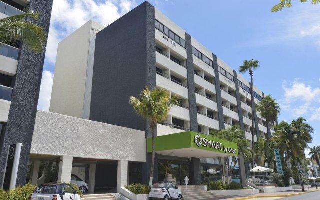 Отель Smart Cancun by Oasis Мексика, Канкун - 2 отзыва об отеле, цены и фото номеров - забронировать отель Smart Cancun by Oasis онлайн вид на фасад