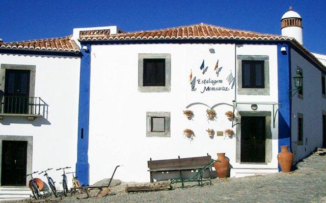 Отель Estalagem de Monsaraz Португалия, Регенгуш-ди-Монсараш - отзывы, цены и фото номеров - забронировать отель Estalagem de Monsaraz онлайн вид на фасад