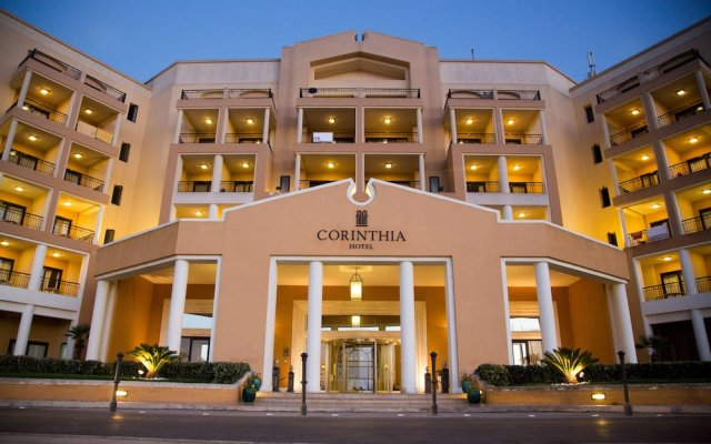 Отель Corinthia St George'S Bay Сан Джулианс вид на фасад