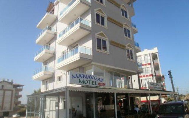 Отель Manavgat Motel вид на фасад