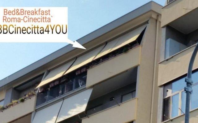 Отель BBCinecitta4YOU вид на фасад