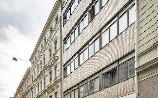 Апартаменты Premier Apartment Wenceslas Square II. Прага вид на фасад