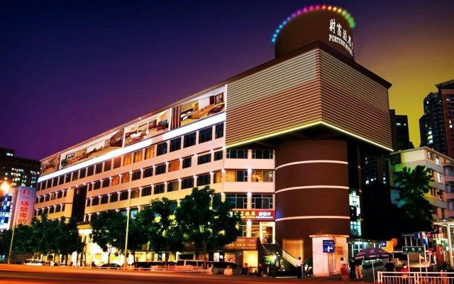 Отель Fortune Шэньчжэнь вид на фасад