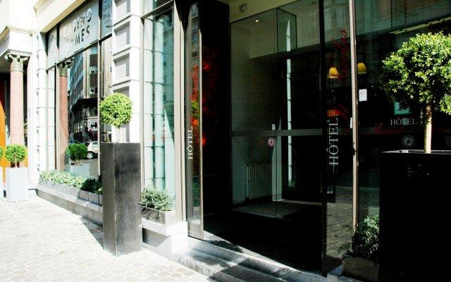 Отель Saint Nicolas Бельгия, Брюссель - 7 отзывов об отеле, цены и фото номеров - забронировать отель Saint Nicolas онлайн вид на фасад