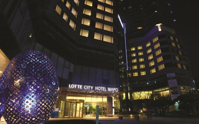 Lotte City Hotel Mapo вид на фасад