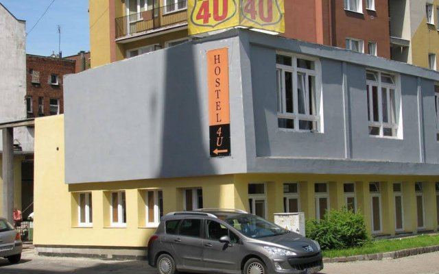 Отель Hostel4u Гданьск вид на фасад