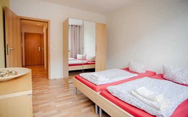 Отель Aparion Apartments Leipzig Family Германия, Лейпциг - отзывы, цены и фото номеров - забронировать отель Aparion Apartments Leipzig Family онлайн комната для гостей