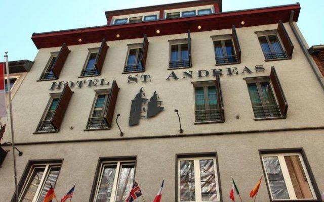 Отель Sankt Andreas Германия, Дюссельдорф - отзывы, цены и фото номеров - забронировать отель Sankt Andreas онлайн вид на фасад