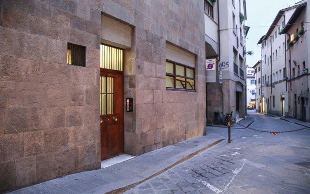 Отель Blue Michelucci вид на фасад