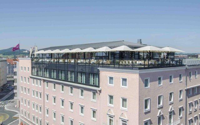 Отель IMLAUER Hotel Pitter Salzburg Австрия, Зальцбург - 7 отзывов об отеле, цены и фото номеров - забронировать отель IMLAUER Hotel Pitter Salzburg онлайн вид на фасад