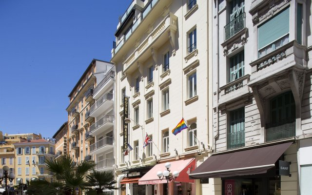 Отель Le Meurice Ницца вид на фасад