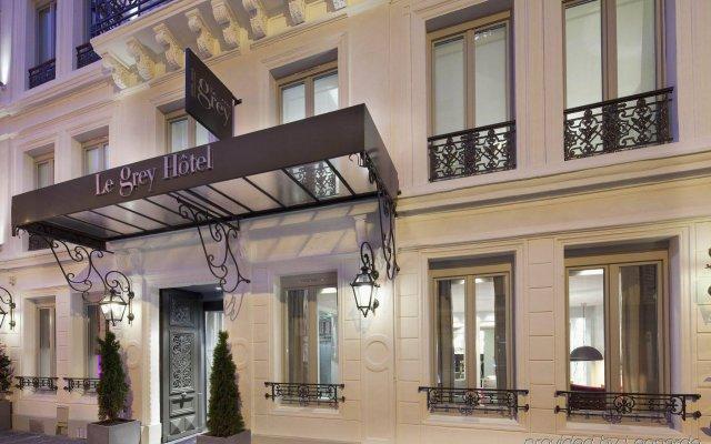 Le Grey Hotel Париж вид на фасад