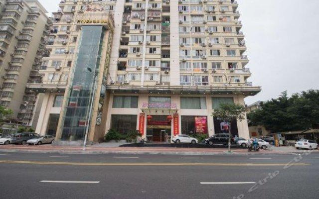 Отель New Yingze Hotel Китай, Сямынь - отзывы, цены и фото номеров - забронировать отель New Yingze Hotel онлайн вид на фасад