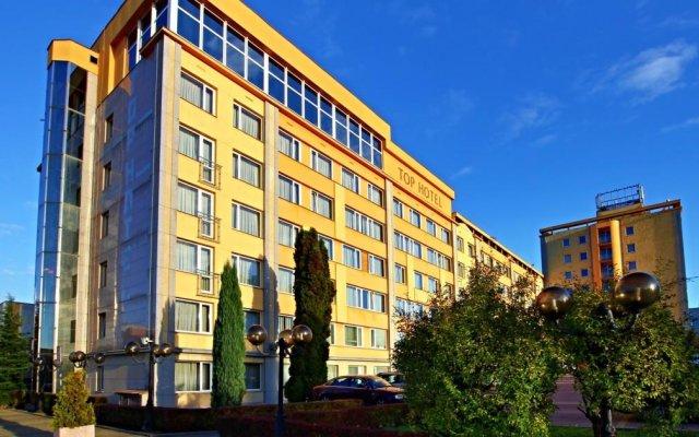 TOP Hotel Praha вид на фасад