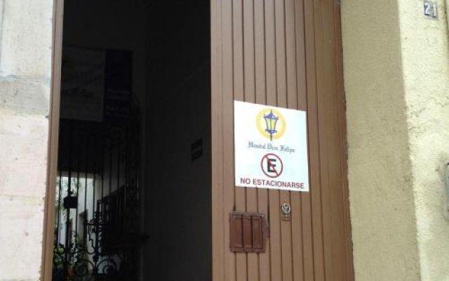 Отель Hostal don Felipe Мексика, Гвадалахара - отзывы, цены и фото номеров - забронировать отель Hostal don Felipe онлайн вид на фасад