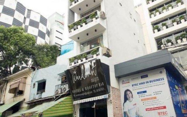 Wanderlust Saigon Hostel вид на фасад