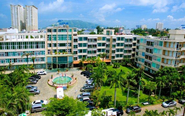 Отель New Wave Vung Tau Вьетнам, Вунгтау - отзывы, цены и фото номеров - забронировать отель New Wave Vung Tau онлайн вид на фасад