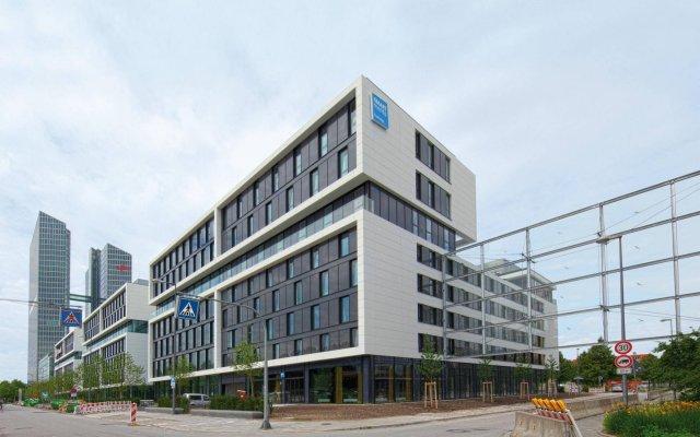 Отель Smartments Business MÜnchen Parkstadt Schwabing Мюнхен вид на фасад