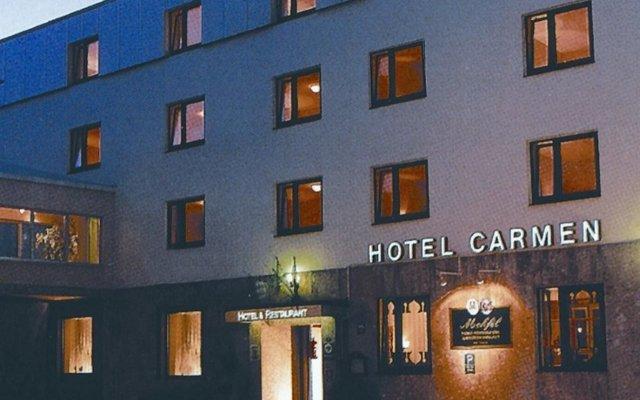 Отель Carmen Германия, Мюнхен - 9 отзывов об отеле, цены и фото номеров - забронировать отель Carmen онлайн вид на фасад