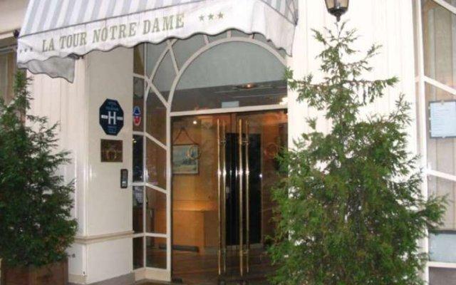 Отель Mercure Paris Notre Dame Saint Germain Des Pres вид на фасад