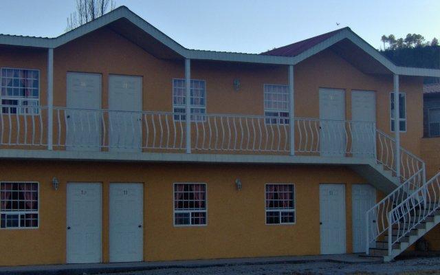 Отель Hacienda Bustillos вид на фасад