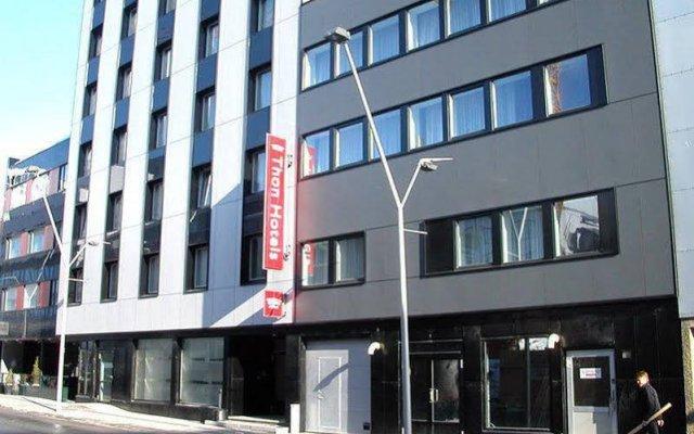 Thon Hotel Polar вид на фасад