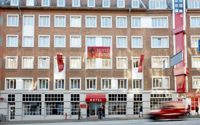 Milling Hotel Gestus Алборг вид на фасад
