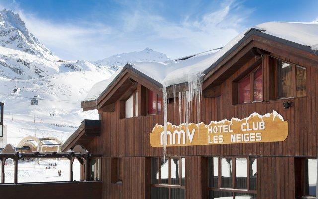 Hotel Club MMV Les Neiges вид на фасад