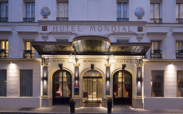 Hotel Mondial вид на фасад