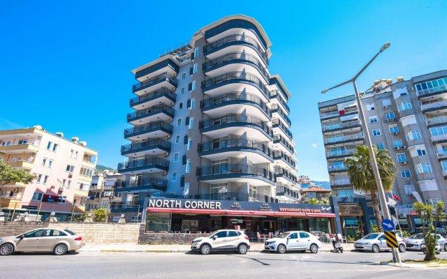 Kleopatra Tower Apart Hotel вид на фасад