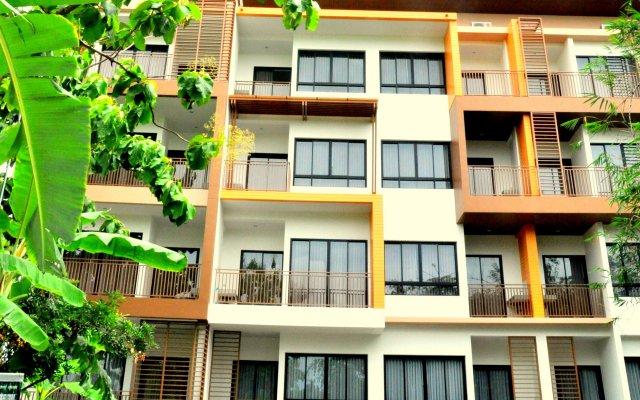 Отель Dusit Naka Place Пхукет вид на фасад
