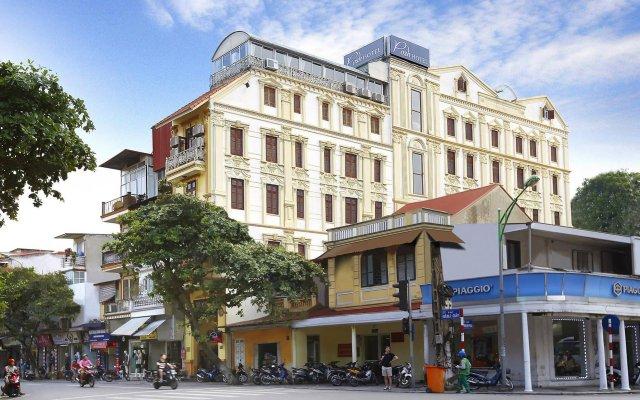 Отель Hanoi Posh Hotel Вьетнам, Ханой - отзывы, цены и фото номеров - забронировать отель Hanoi Posh Hotel онлайн вид на фасад