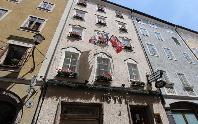 Отель Trumer Stube Зальцбург вид на фасад